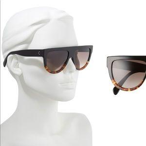 Celine flat top brown sunglasses